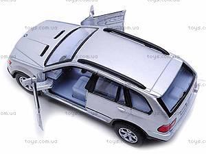 Инерционная машина BMW X5, KT5020W, игрушки