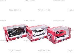 Инерционная машина BMW X6, масштаб 1:38, KT5336W, магазин игрушек
