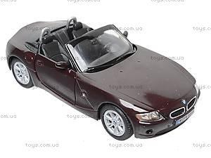 Инерционная машина BMW Z4, KT5069W, игрушки
