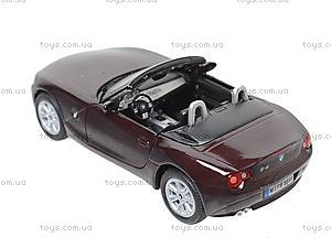 Инерционная машина BMW Z4, KT5069W, детские игрушки