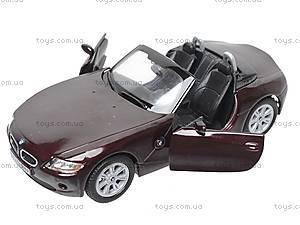 Инерционная машина BMW Z4, KT5069W, магазин игрушек