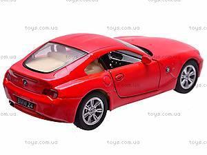 Инерционная машина BMW Z4 Coupe, KT5318W, купить