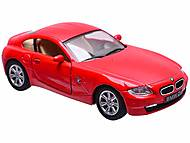 Инерционная машина BMW Z4 Coupe, KT5318W, игрушки
