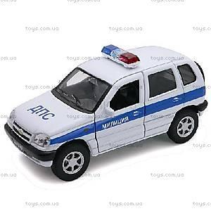 Инерционная машина Chevrolet «Милиция, ДПС», 42379PB-W, купить