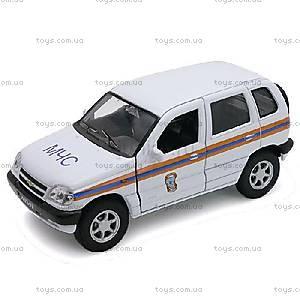 Инерционная машина Chevrolet Niva «МЧС», 42379RE-W, купить