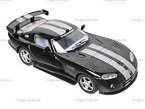Инерционная машина Dodge Viper GTSR, KT5039W, цена