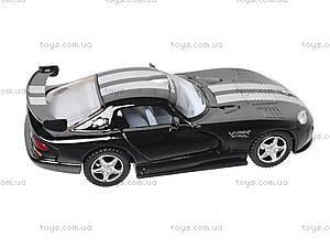 Инерционная машина Dodge Viper GTSR, KT5039W, игрушки