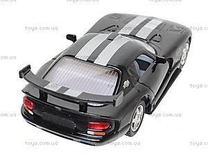 Инерционная машина Dodge Viper GTSR, KT5039W, детские игрушки