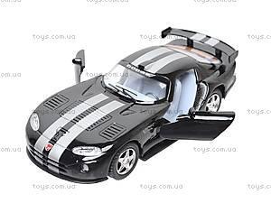 Инерционная машина Dodge Viper GTSR, KT5039W, магазин игрушек