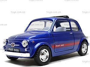 Инерционная машина Fiat 500, KT5004W, детские игрушки