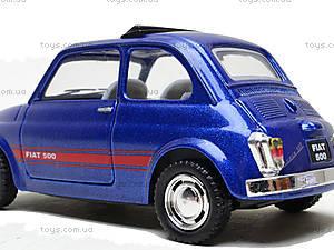 Инерционная машина Fiat 500, KT5004W, магазин игрушек