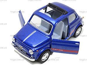 Инерционная машина Fiat 500, KT5004W, toys.com.ua