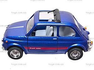 Инерционная машина Fiat 500, KT5004W, фото