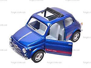 Инерционная машина Fiat 500, KT5004W, отзывы