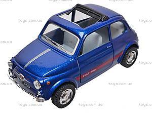 Инерционная машина Fiat 500, KT5004W, игрушки