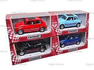 Инерционная машина Fiat 500, KT5004W