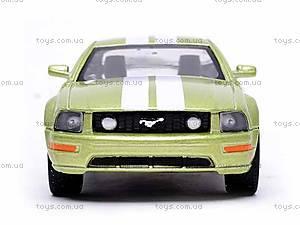 Инерционная машина Ford Mustang GT 2006, KT5091WF, купить
