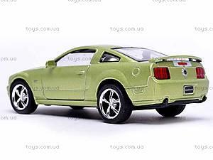 Инерционная машина Ford Mustang GT 2006, KT5091WF, игрушки