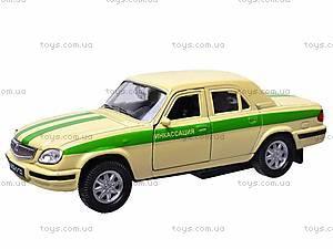 Инерционная машина ГАЗ-31105 «Инкассация», 42384CN-W