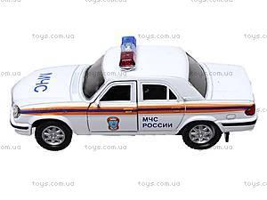 Инерционная машина ГАЗ-31105 «МЧС», 42384RE-W, отзывы