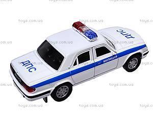 Инерционная машина ГАЗ-31105 «Милиция, ДПС», 42384PB-W, купить