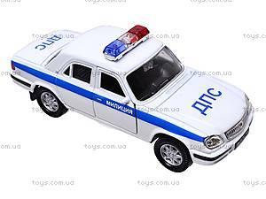 Инерционная машина ГАЗ-31105 «Милиция, ДПС», 42384PB-W, фото