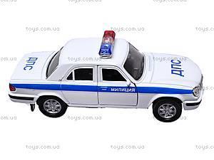 Инерционная машина ГАЗ-31105 «Милиция, ДПС», 42384PB-W, отзывы