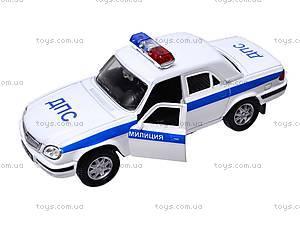 Инерционная машина ГАЗ-31105 «Милиция, ДПС», 42384PB-W, цена