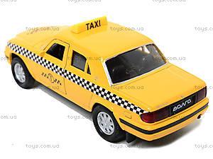 Инерционная машина ГАЗ-31105 «Такси», 42384TI-W, фото