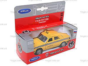 Инерционная машина ГАЗ-31105 «Такси», 42384TI-W, цена