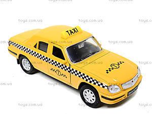 Инерционная машина ГАЗ-31105 «Такси», 42384TI-W, игрушки