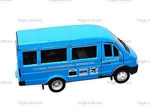 Инерционная машина ГАЗ-3221 «Аэропорт», 42387AAP-W, отзывы