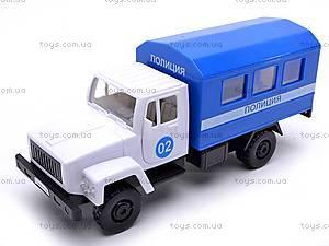 Инерционная машина ГАЗ «Милиция», 33118, купить