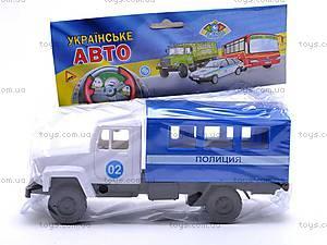 Инерционная машина ГАЗ «Милиция», 33118, фото