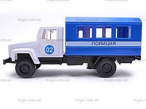 Инерционная машина ГАЗ «Милиция», 33118, отзывы