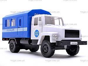 Инерционная машина ГАЗ «Милиция», 33118