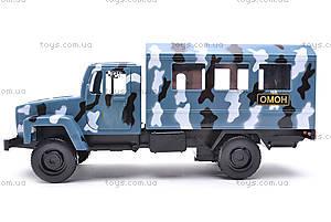 Инерционная машина ГАЗ «ОМОН», 33116, купить