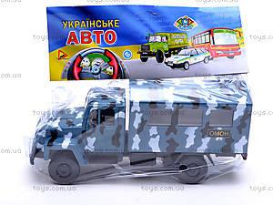 Инерционная машина ГАЗ «ОМОН», 33116, фото