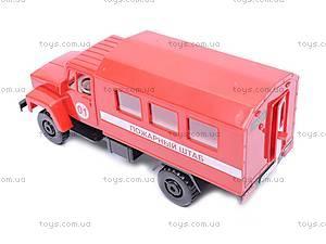 Инерционная машина ГАЗ «Пожарный штаб», 33117, купить