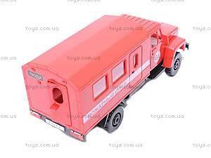 Инерционная машина ГАЗ «Пожарный штаб», 33117, фото