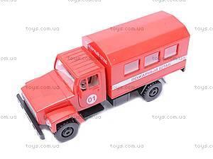 Инерционная машина ГАЗ «Пожарный штаб», 33117
