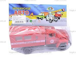 Инерционная машина ГАЗ «Пожарный штаб», 33117, цена