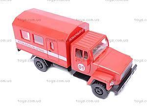 Инерционная машина ГАЗ «Пожарный штаб», 33117, игрушки