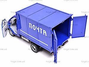 Инерционная машина Газель «Почта», 9123-A, игрушки