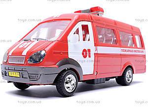 Инерционная машина Газель «Пожарная», 1114