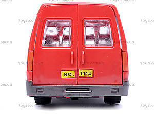 Инерционная машина Газель «Пожарная», 1114, фото
