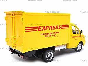 Инерционная машина Газель «Служба доставки», 9123B, цена