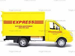 Инерционная машина Газель «Служба доставки», 9123B, игрушки