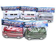 Инерционная машина «Городской транспорт», 89830-1/6, купить игрушку