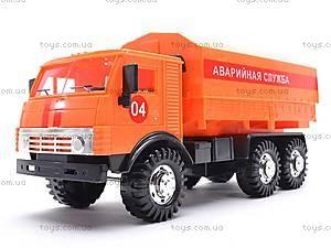 Инерционная машина КАМАЗ «Аварийная служба», 31702, фото